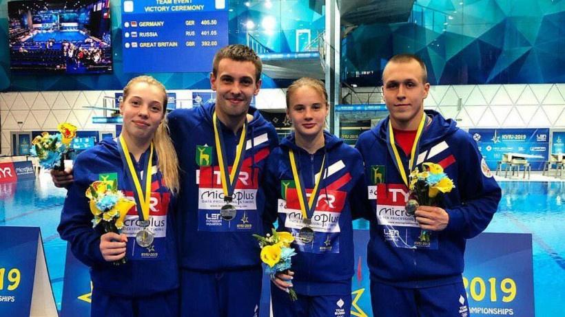 Прыгуны в воду из Подмосковья завоевали золотую и бронзовую медали на чемпионате Европы