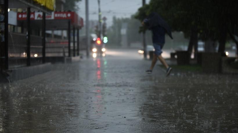 На Подмосковье надвигаются сильные дожди и грозы