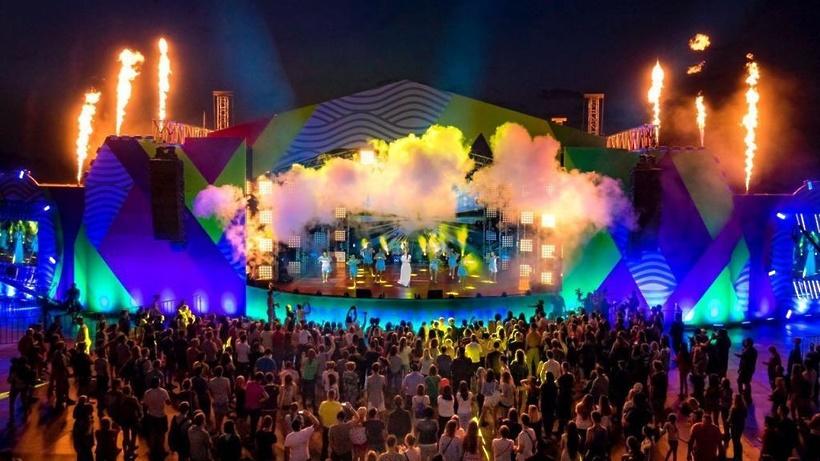 Масштабный фестиваль DME Open Air прошел в Подмосковье