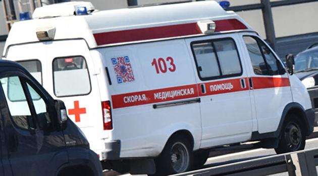 Машина сбила ребенка возле школы в Подольске
