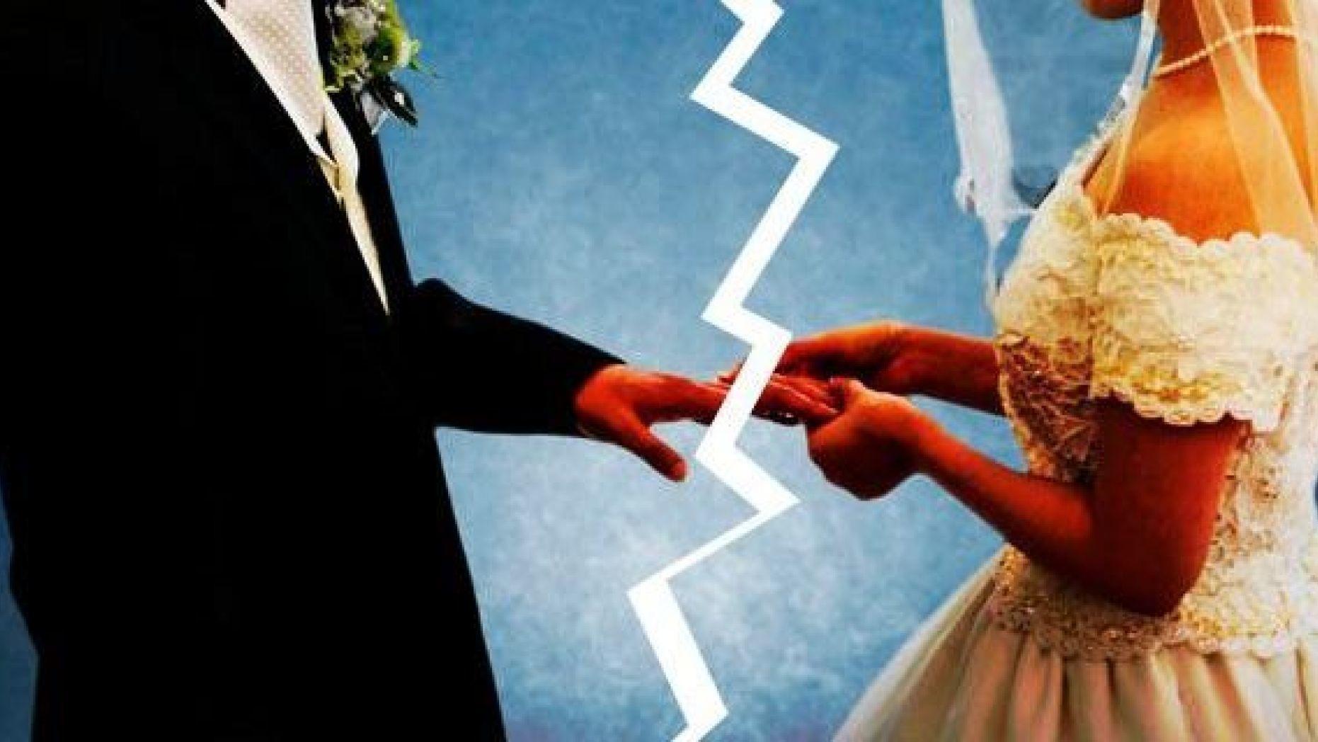 Количество разводов среди жителей Подмосковья снижается
