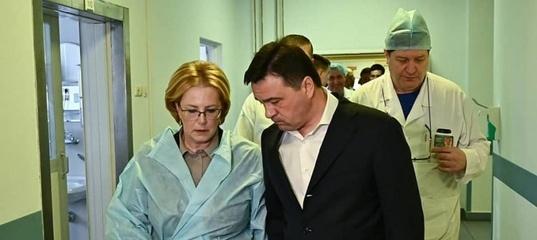 Губернатор А. Воробьев рассказал о слаженной работе медиков в «Шереметьеве»