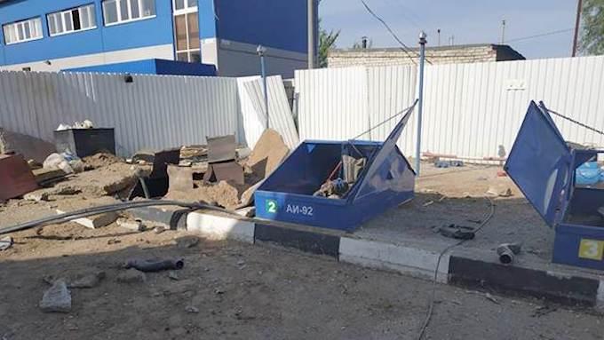 Три человека стали жертвами взрыва на АЗС в Серпухове