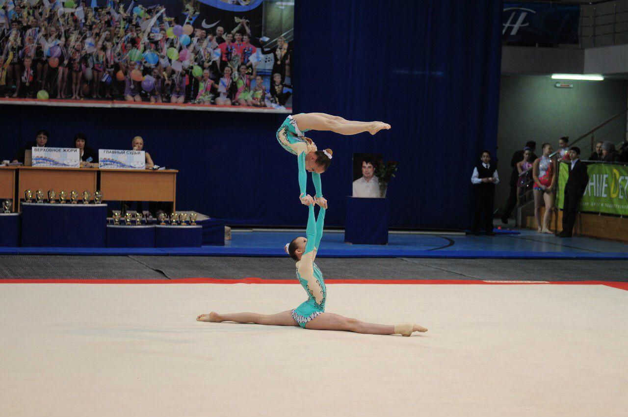 Акробаты из Подмосковья завоевали четыре золотые медали на всероссийском чемпионате