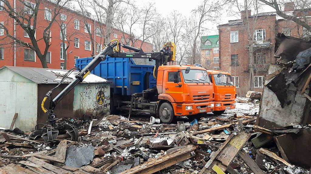 Триста гаражей и тентов будут снесены в подмосковном Одинцове